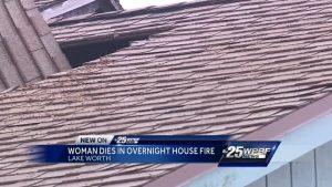 Woman dies in Lake Worth fire