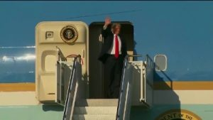 President Trump has arrived in Palm Beach