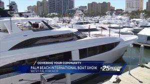Palm Beach International Boat Show in West Palm Beach