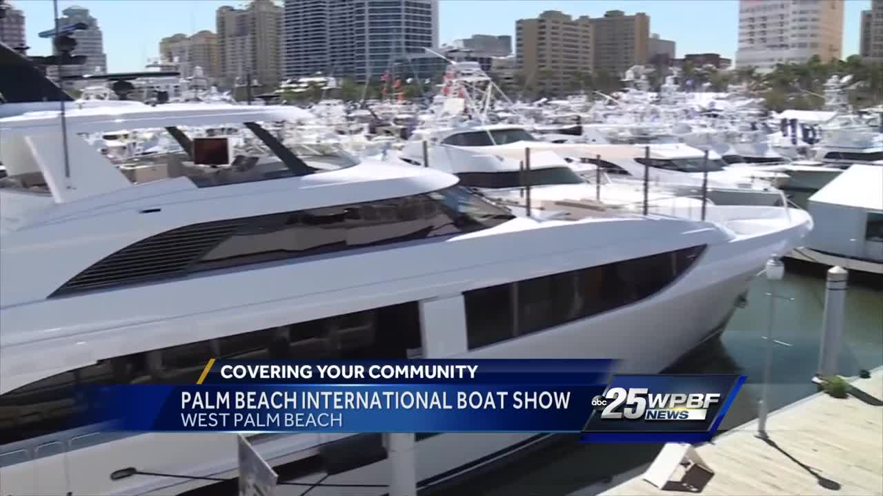 Palm Beach International Boat Show in West Palm Beach
