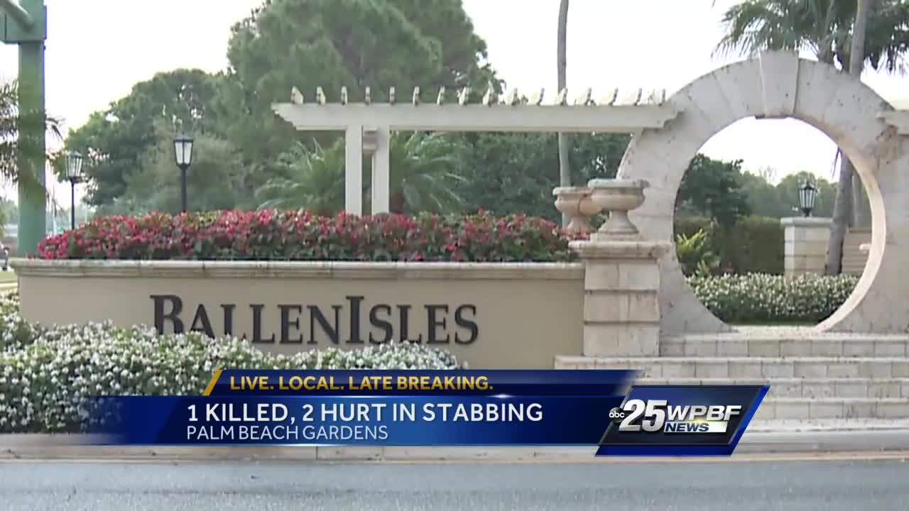 1 Killed 2 Hurt In Palm Beach Gardens Stabbing Palm