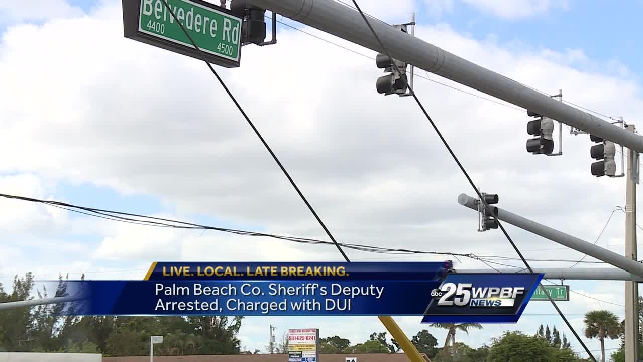 Palm Beach County Sheriff's Deputy arrested