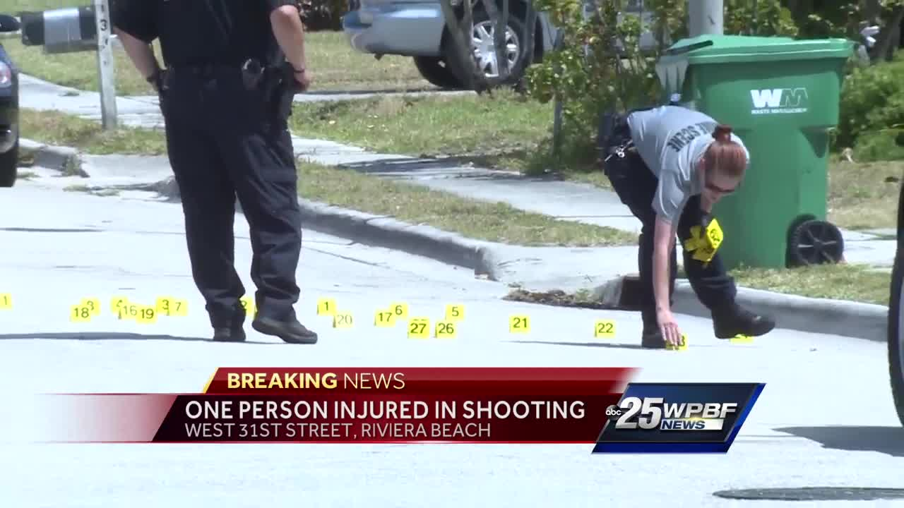 One person shot in Riviera Beach