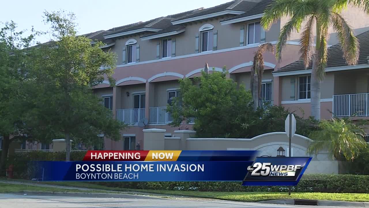 Pregnant woman shot by home intruders in Boynton Beach