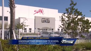 A gun was found inside a student's backpack at an  Elementary charter school