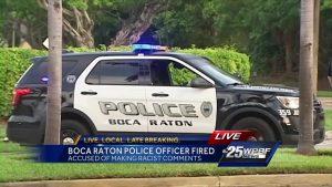 Boca Raton Police Officer fired