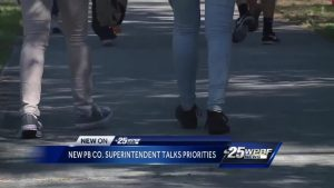 New school superintendent talks priorities