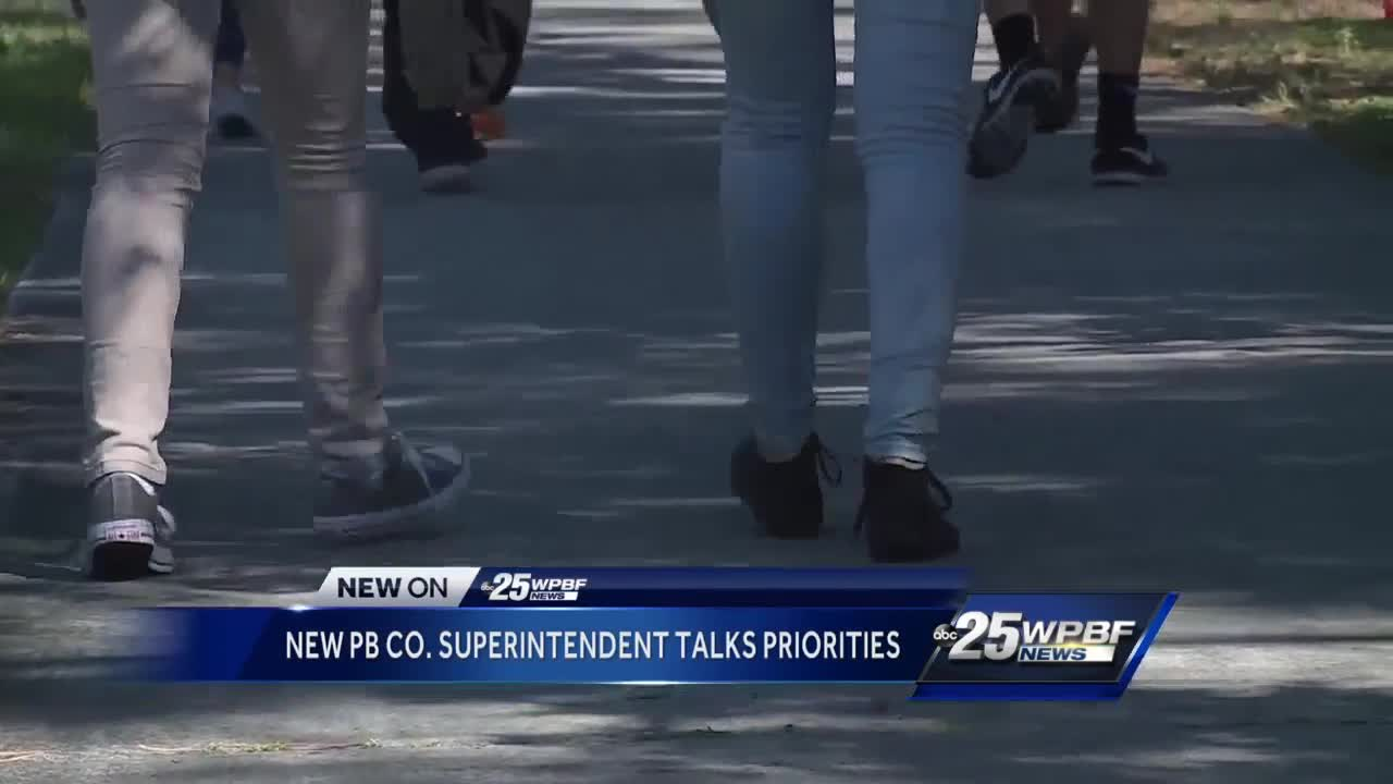 New school superintendent talks priorities