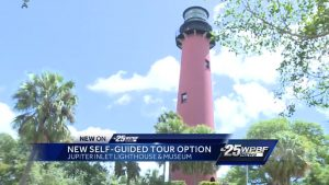 New self guided tour option for the Jupiter Inlet Lighthouse and Museum
