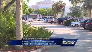 Police: Jupiter Walmart worker charged with aggravated assault