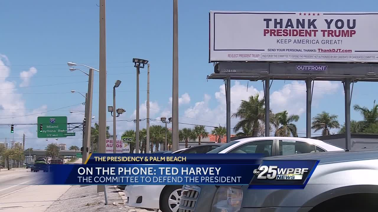 Battle of the Trump billboards continues in West Palm Beach
