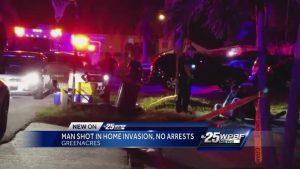 Man shot in Greenacres home invasion