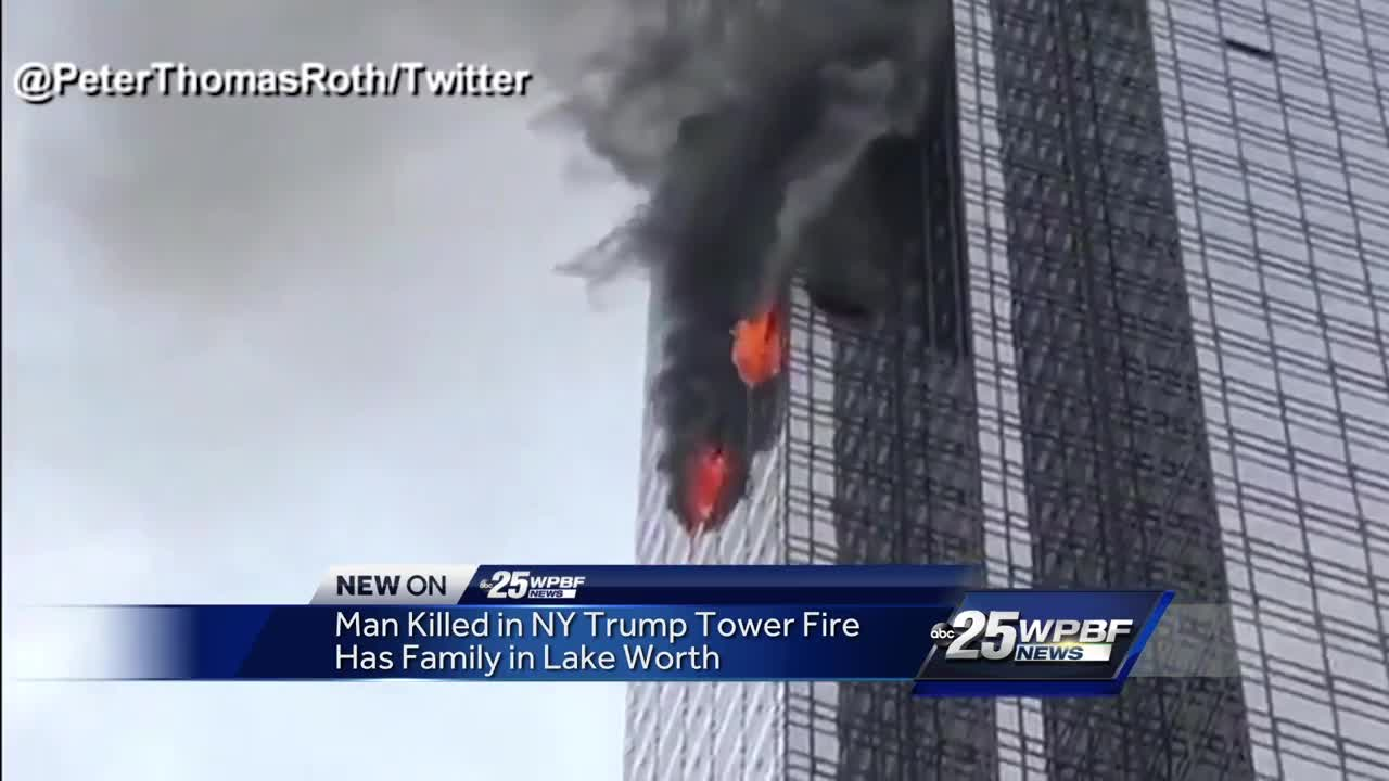 Man killed in NY Trump Tower fire has family in Lake Worth