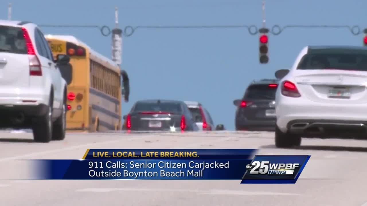 911 calls: senior citizen carjacked outside Boynton Beach Mall