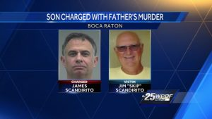 Police interview with man accused of killing father