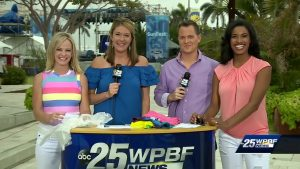 Morning crew live at SunFest