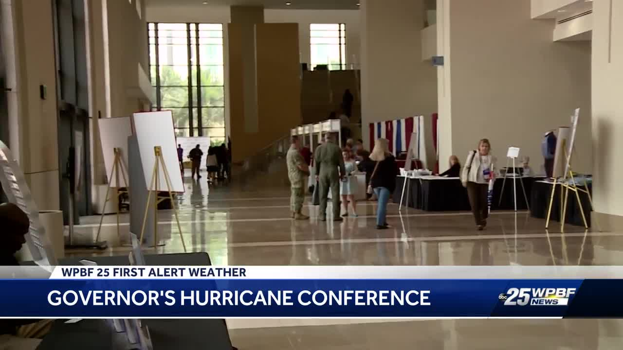 Hurricane conference underway in West Palm Beach