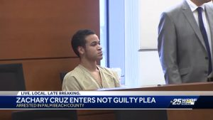Zachary Cruz to be transported to Broward County following Palm Beach County arrest