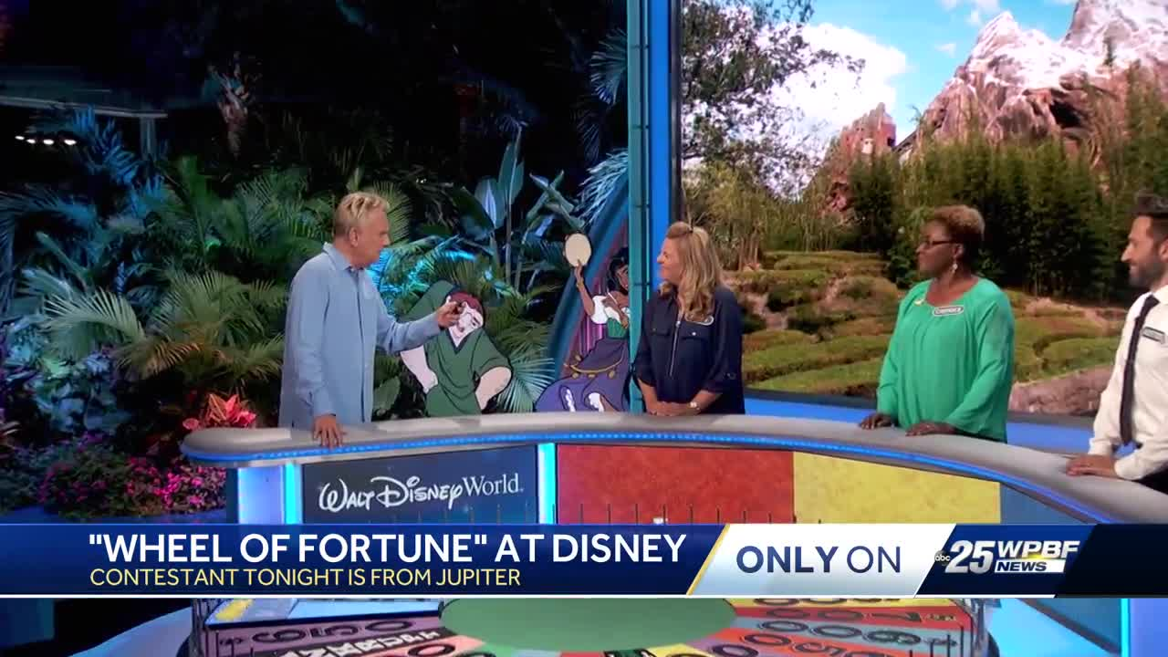 Wheel of Fortune at Disney