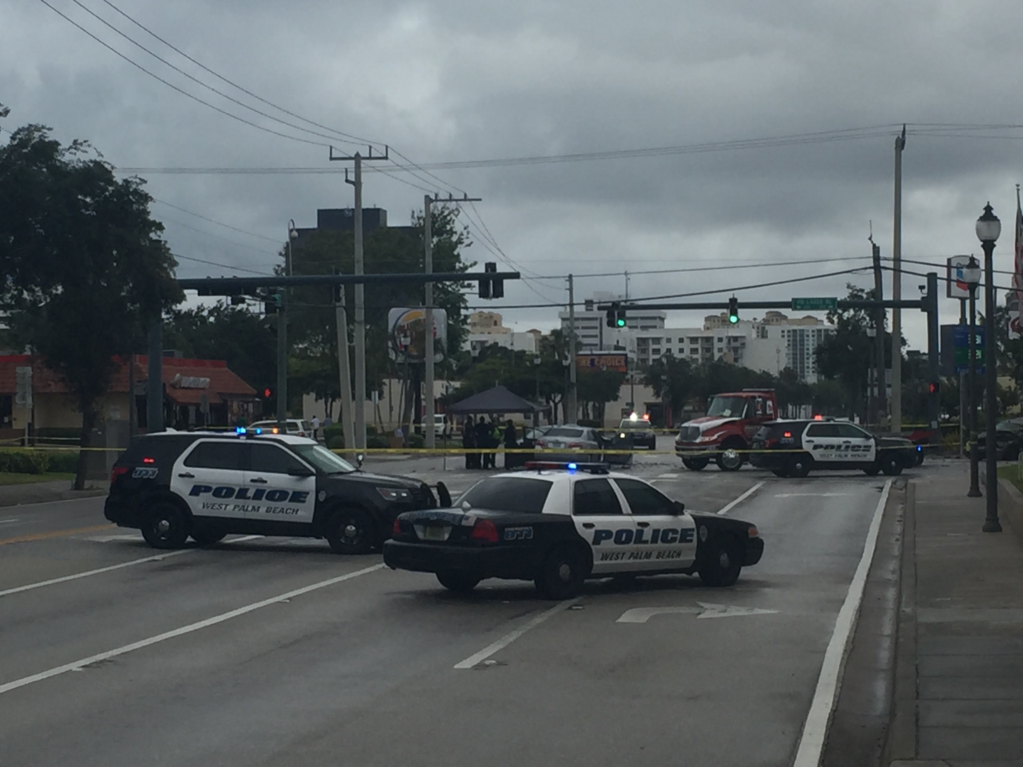 West Palm Beach Police release identity of the man killed this morning in a 4 car crash