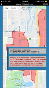 'Zombie' alert issued in Lake Worth