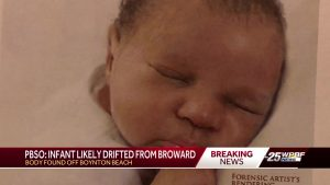 Detectives: Baby found dead in ocean could have drifted from Broward County