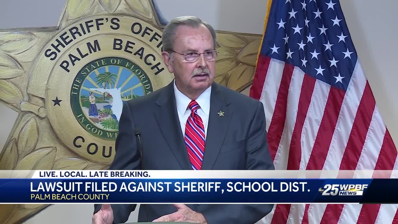 Lawsuit filled against sheriff