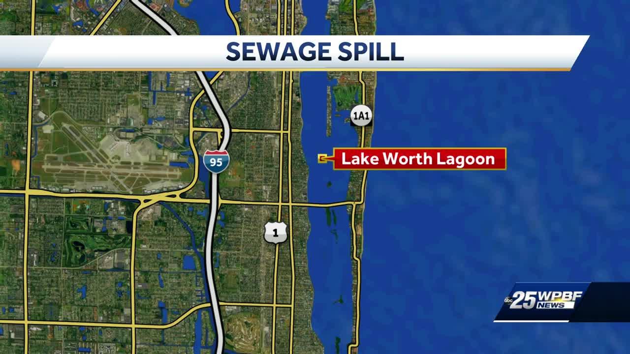 Lake Worth Lagoon Spillage