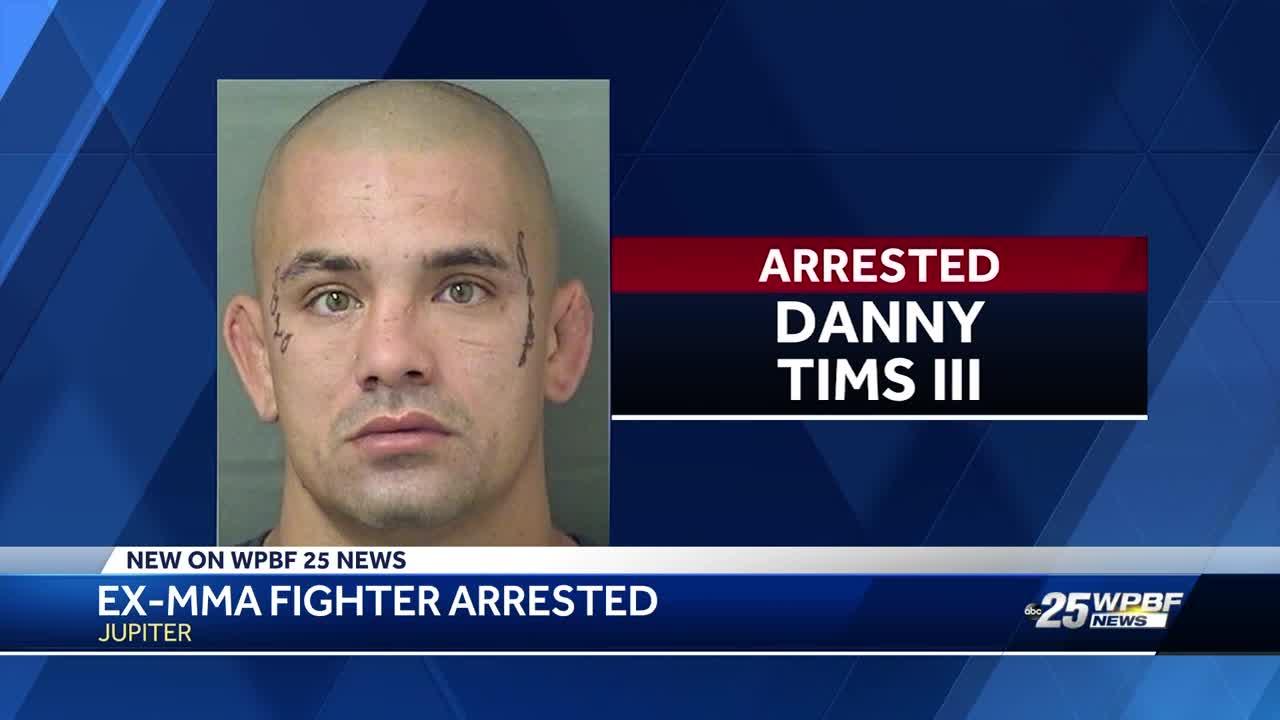 Former MMA fighter arrested