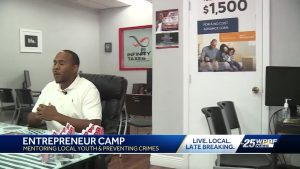 Riviera Beach business owner focuses on mentoring youth