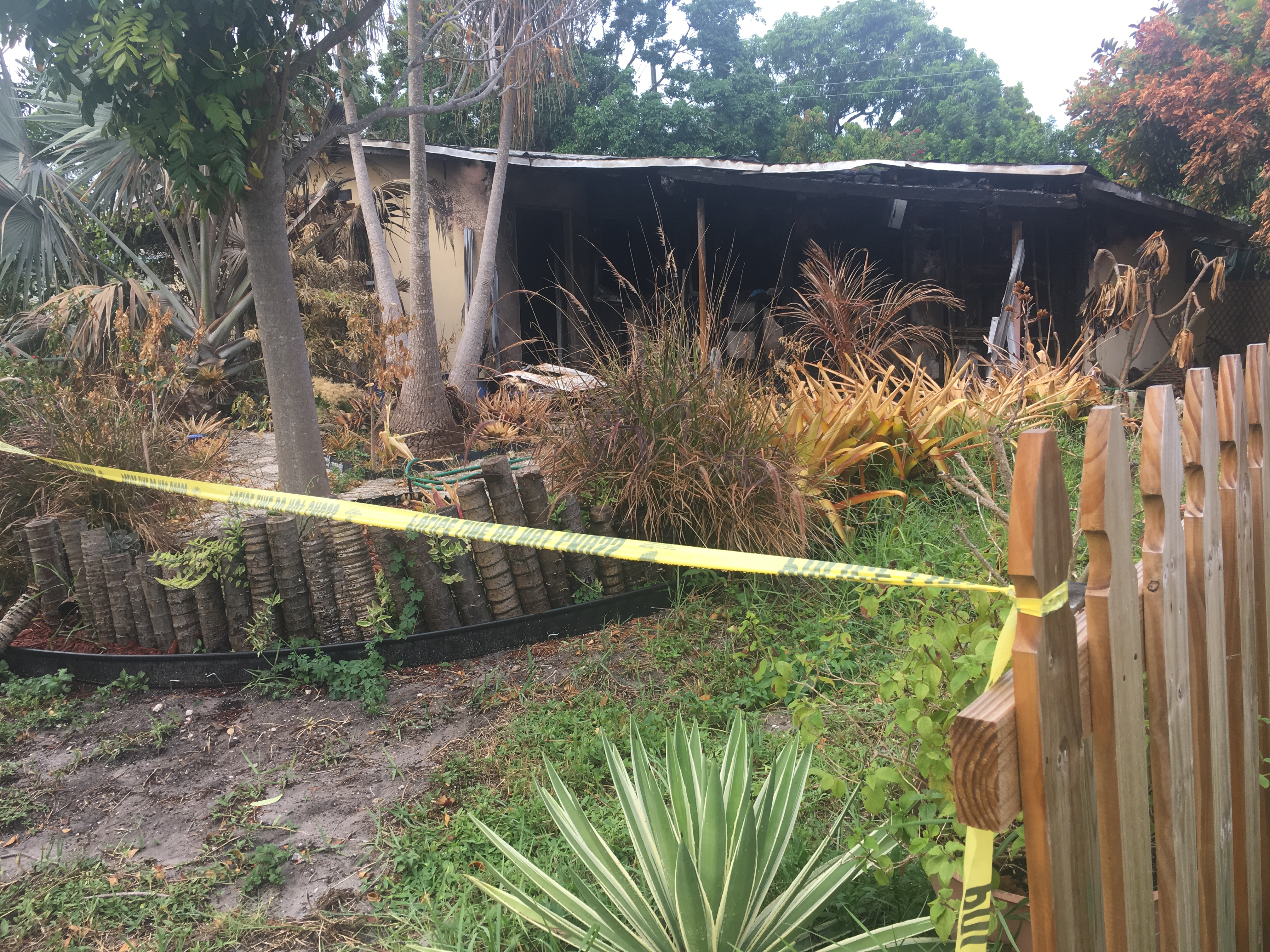 Lantana woman critically injured in fire