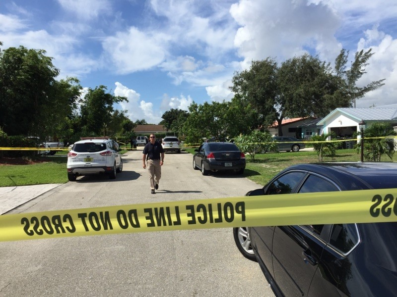 Officer involved shooting in Delray Beach