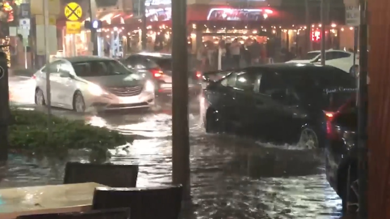 City: Mulch to blame for flooding Atlantic Avenue
