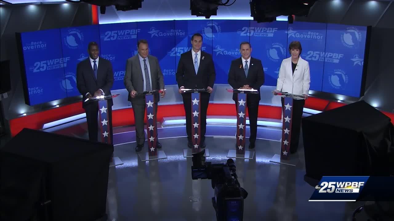 WATCH: Democratic gubernatorial primary debate