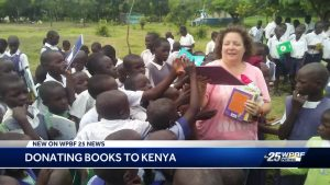 Local librarian works to build library in Africa