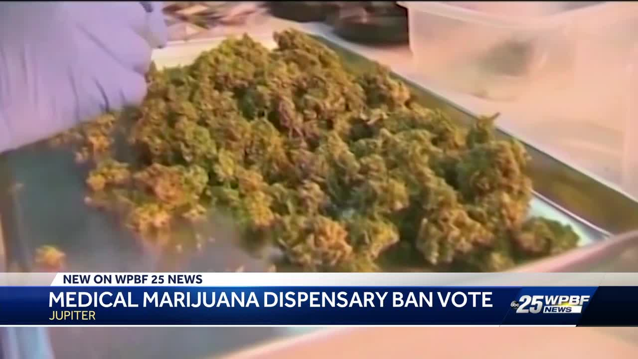 Jupiter to vote on medical marijuana dispensary