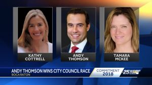 Andy Thomson wins city council race
