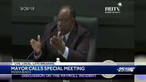 Riviera Beach Mayor calls special meeting