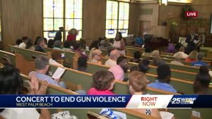 Concerts to end gun violence in West Palm Beach