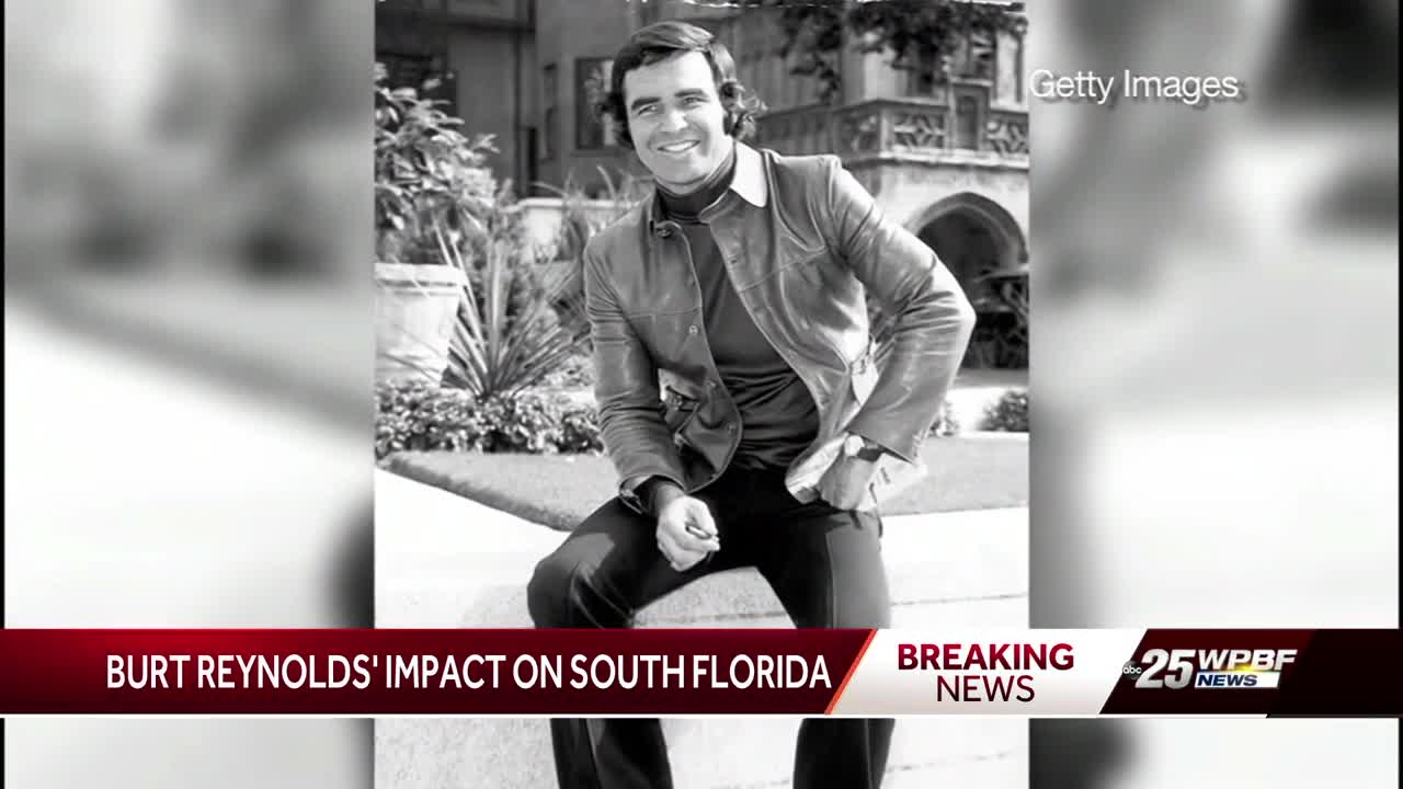 Burt Reynolds' impact on South Florida
