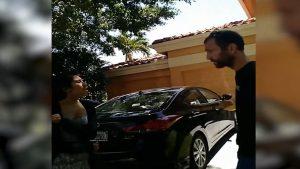 Video shows exchange between family