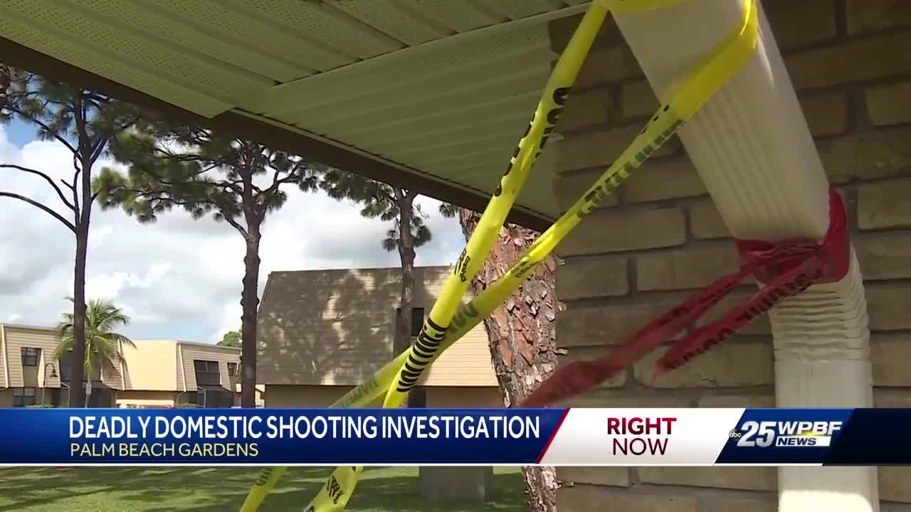 1 dead in domestic violence related shooting