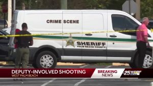 Deputy-involved shooting in West Palm Beach