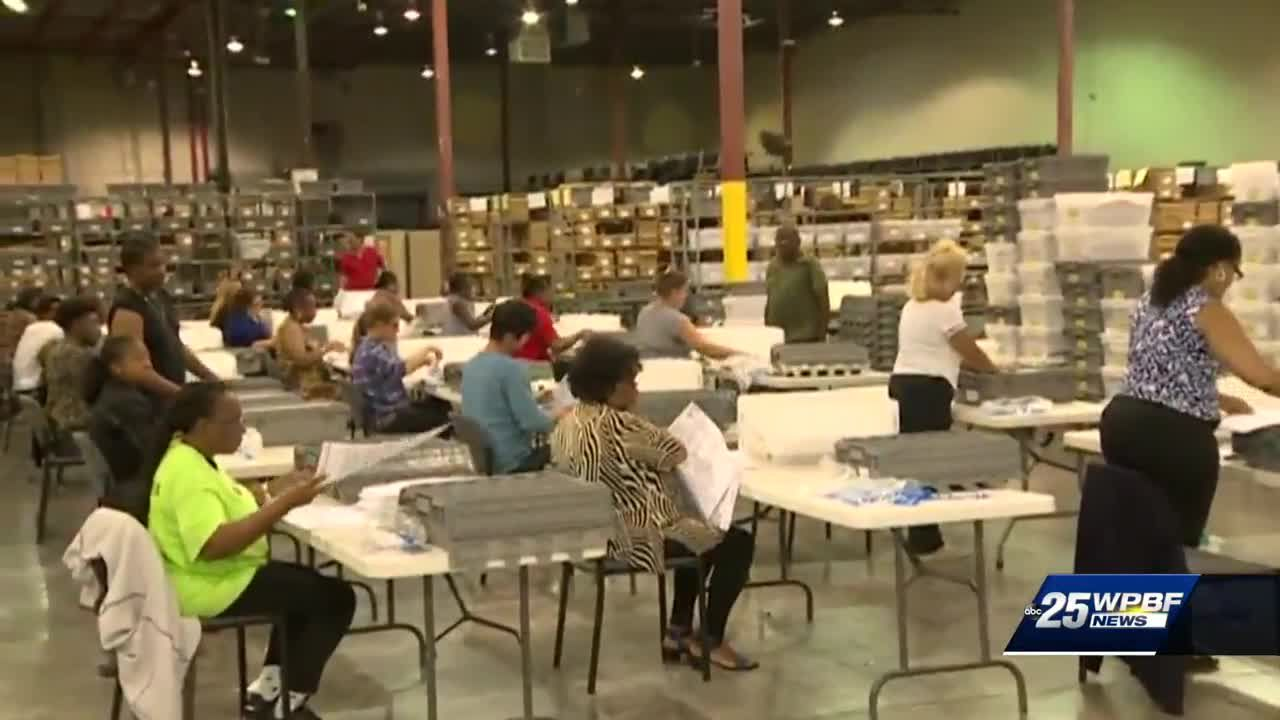 Ballots tabulated in Palm Beach County