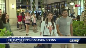Long lines and delightful deals kick off Black Friday at The Palm Beach Outlets