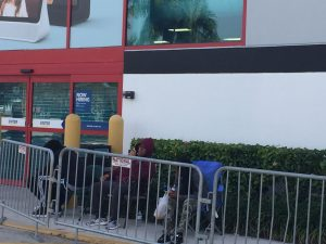 People start lining up for Black Friday
