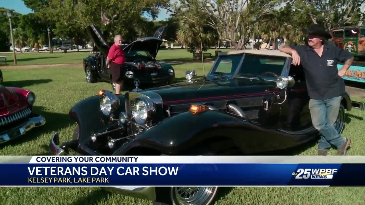 Veteran's Day annual car show