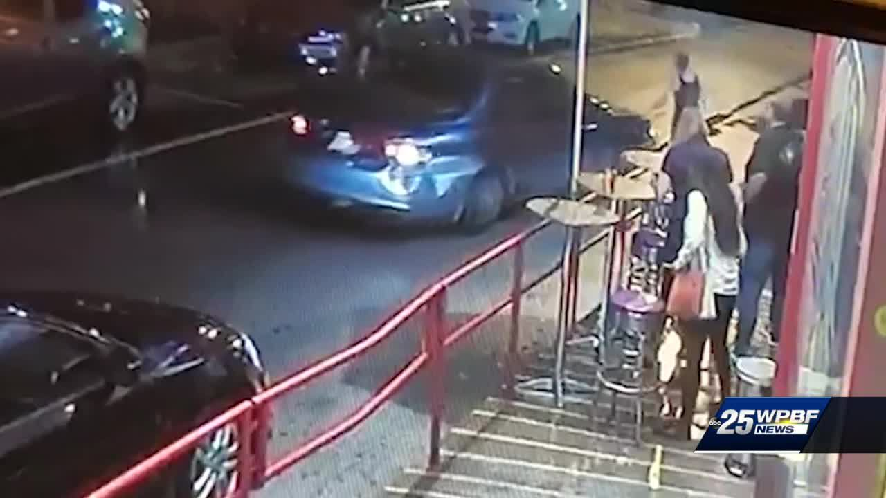 Woman tries to stop theft