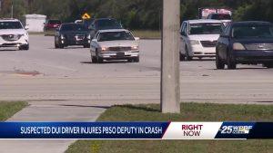 Deputy injured in three car crash in Royal Palm Beach