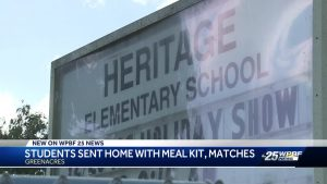 Kits meant to feed families mistakenly contain matches